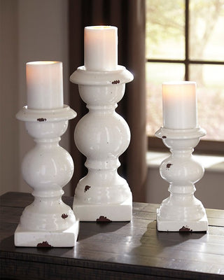 Devorah Signature Design by Ashley Candle Holder