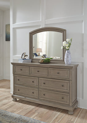 Lettner Signature Design by Ashley Dresser and Mirror
