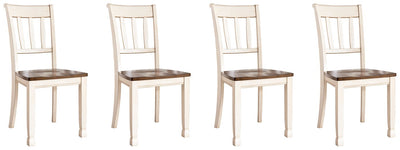 Whitesburg Signature Design 2-Piece Dining Chair Package