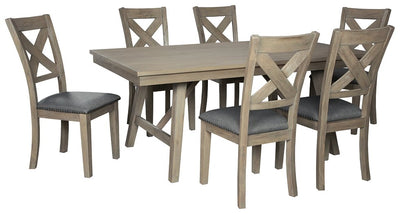 Aldwin Signature Design 7-Piece Dining Room Set image
