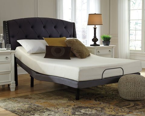 Chime 8 Inch Memory Foam Sierra Sleep by Ashley Memory Foam Mattress