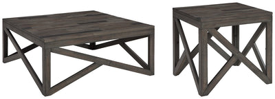 Haroflyn Signature Design 2-Piece Table Set