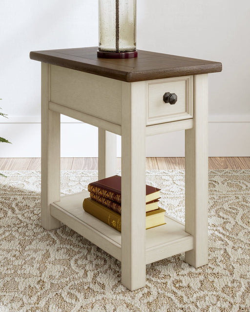 Bolanburg Signature Design by Ashley Two-tone Chairside End Table image