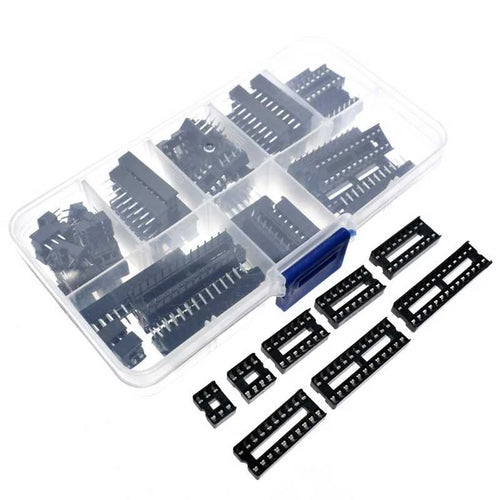 66PCS DIP IC Sockets Adaptor Pack
