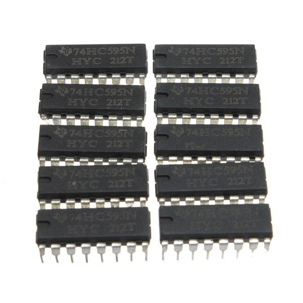 74HC595 Shift Register 30 pcs - Circuit-Pop