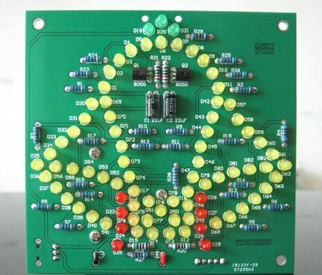 Holiday LED Windbell DIY Electronic Kit