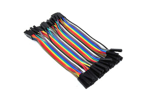 40 Pin Female-Female Dupont Ribbon Cable - Circuit-Pop