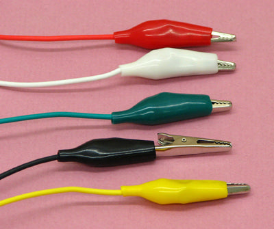 Double-ended Alligator Clip Cables 20 PCs - Circuit-Pop