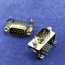 Load image into Gallery viewer, DB9 RS232 PCB Connectors 10 PCS Male/Female - Circuit-Pop