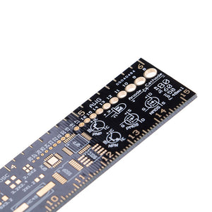 6 Inch (15cm) Electronics Reference Ruler