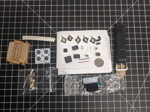 OLED Digital Watch Electronic DIY Kit