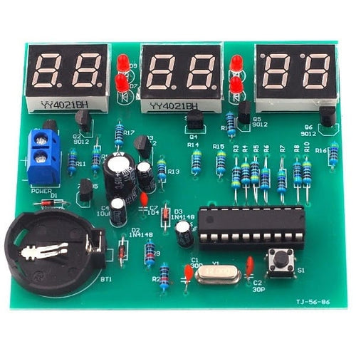 6-Bit 24 Hour Clock DIY Electronic Kit