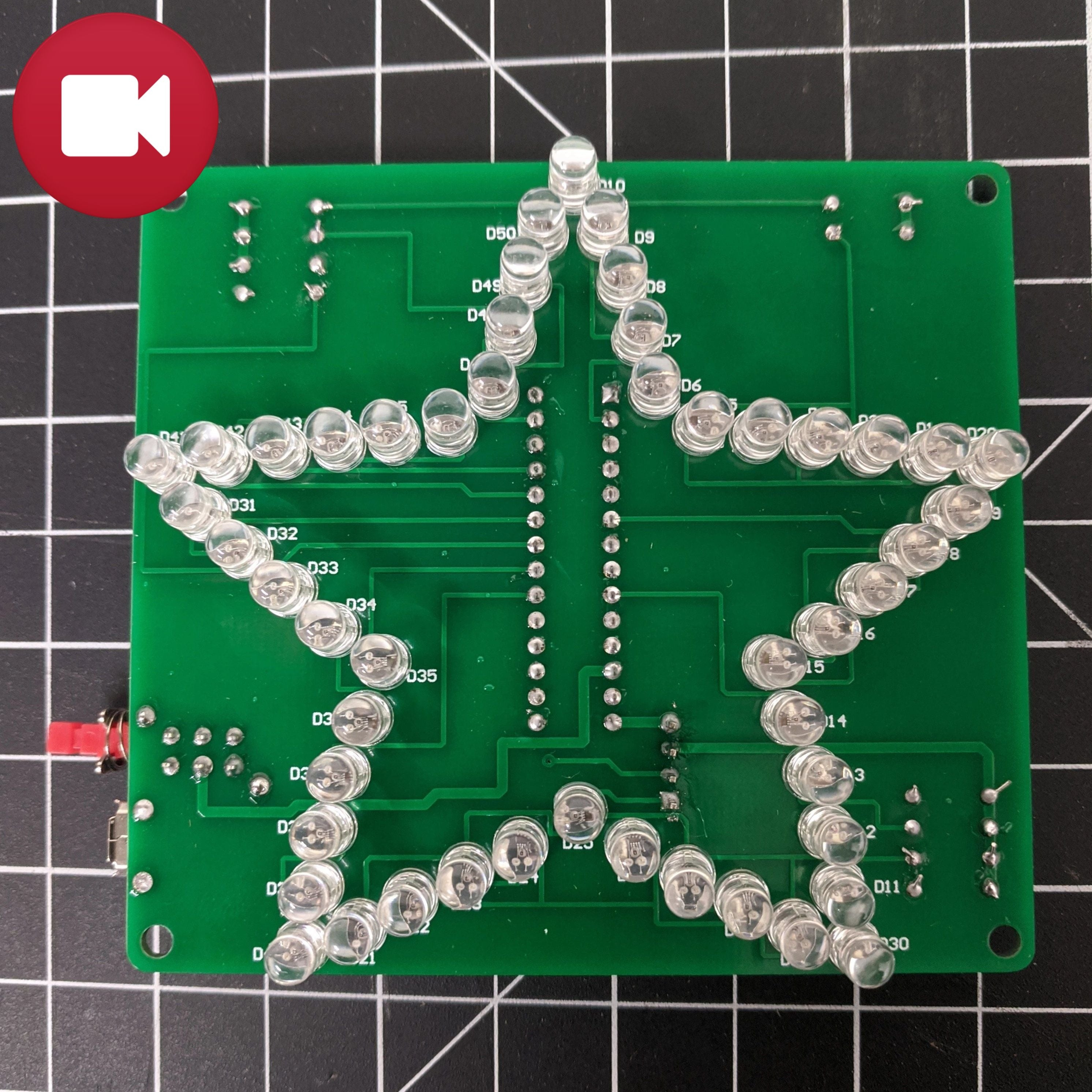Multicolor LED Star Light Show DIY electronic Kit