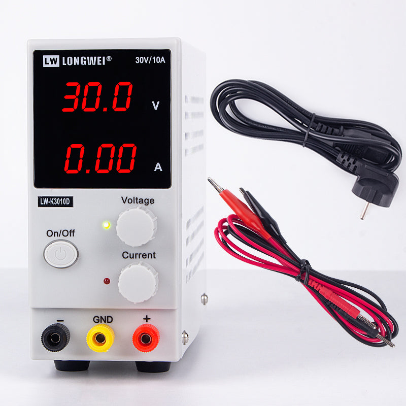 30/60V LED DC Bench Power Supply - Circuit-Pop