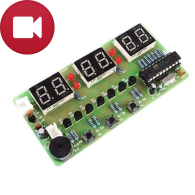 6 Bit Alarm Clock V2 DIY Electronic Kit