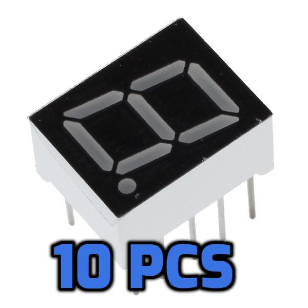 7 Segment Display 10 Pcs - Circuit-Pop