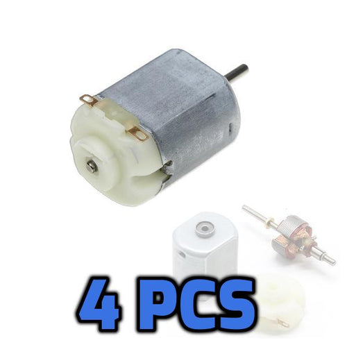 Mini DC Hobby Motor 4pcs - Circuit-Pop
