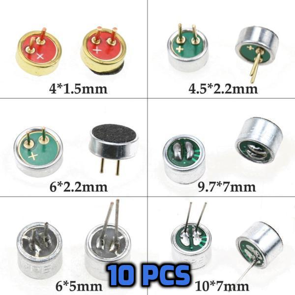 Mini condenser Microphone 10pcs - Circuit-Pop
