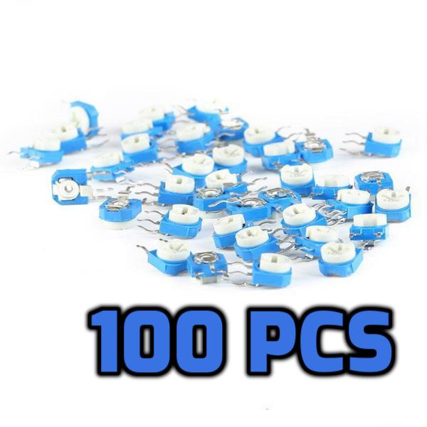 20K ohm 203 Trimpot 100 pcs - Circuit-Pop