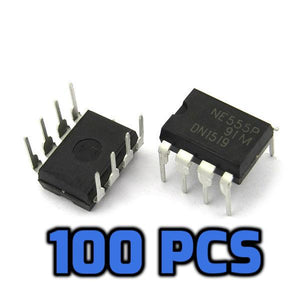 555 Timer IC NE555 100PCS - Circuit-Pop