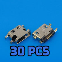 Load image into Gallery viewer, Micro USB pcb port 30PCS - Circuit-Pop
