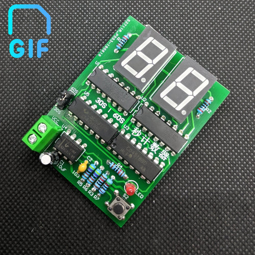 30-60S Dual Mode Stopwatch DIY Electronic Kit
