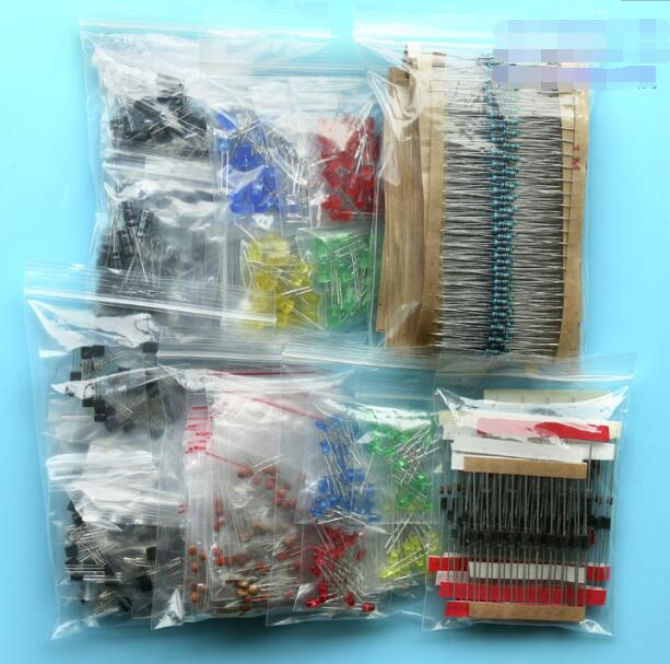 All in one 1500 piece Electronic Component Set
