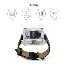 Load image into Gallery viewer, OLED Digital Watch Electronic DIY Kit - Circuit-Pop