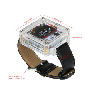 OLED Digital Watch Electronic DIY Kit - Circuit-Pop