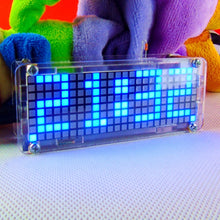 Load image into Gallery viewer, LED Matrix Digital Electronic Clock DIY Project Kit