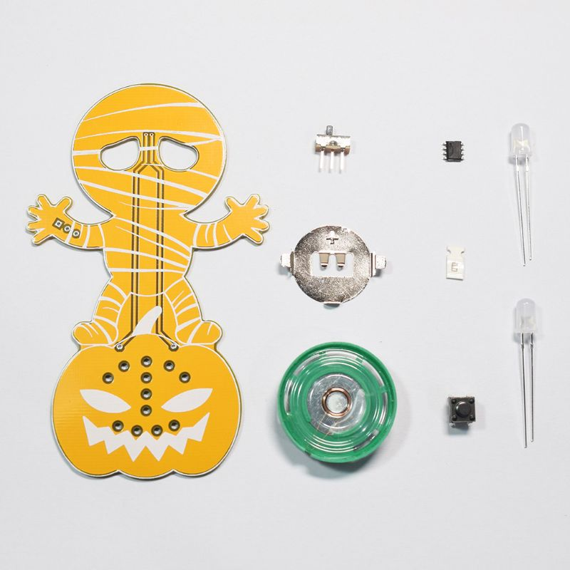 Cackling Mummy Halloween DIY Electronic Kit