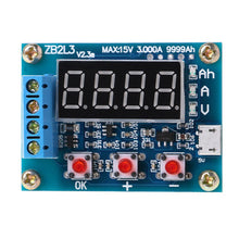 Load image into Gallery viewer, ZB2L3 USB Lithium/Led Acid Battery Capacity Tester Module