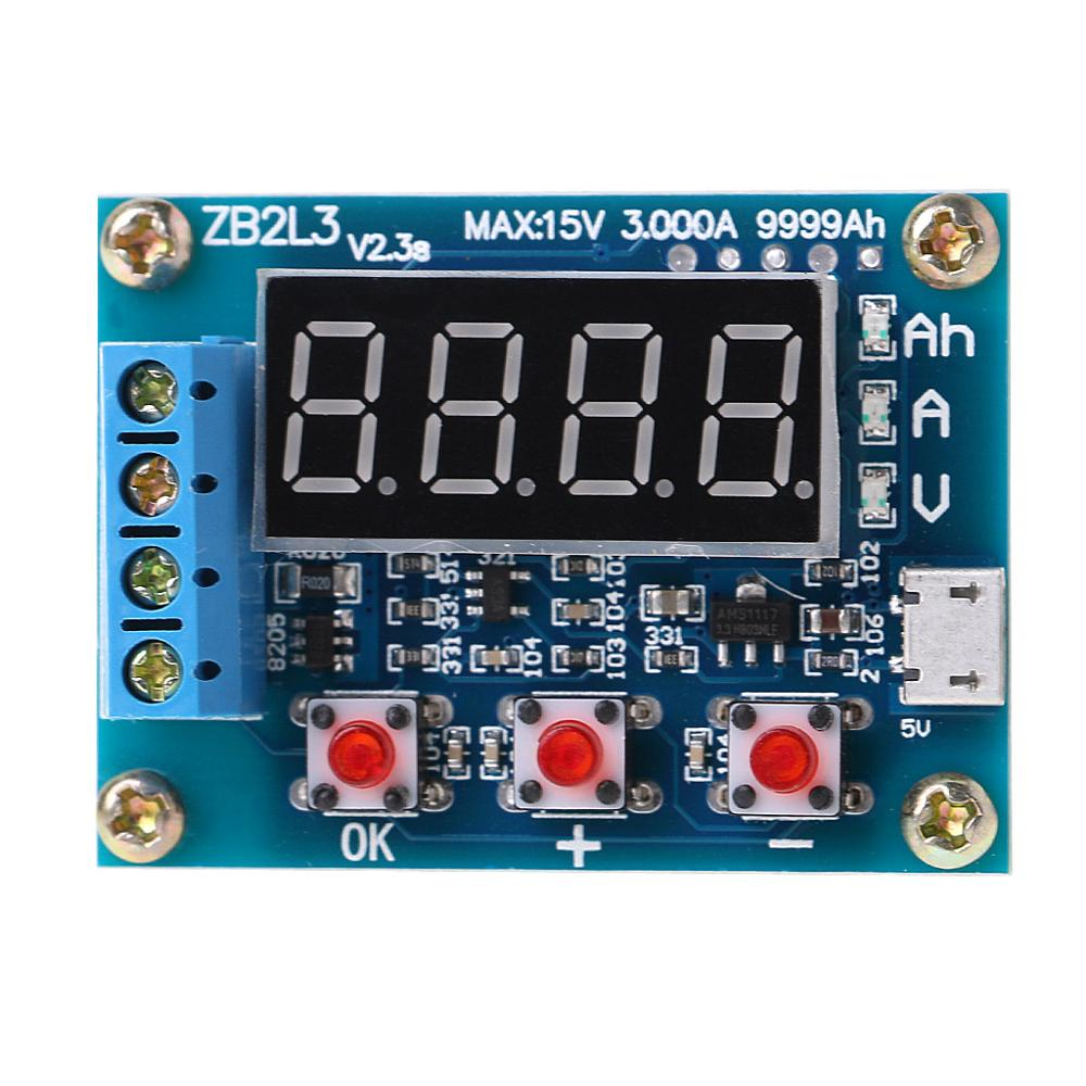 ZB2L3 USB Lithium/Led Acid Battery Capacity Tester Module