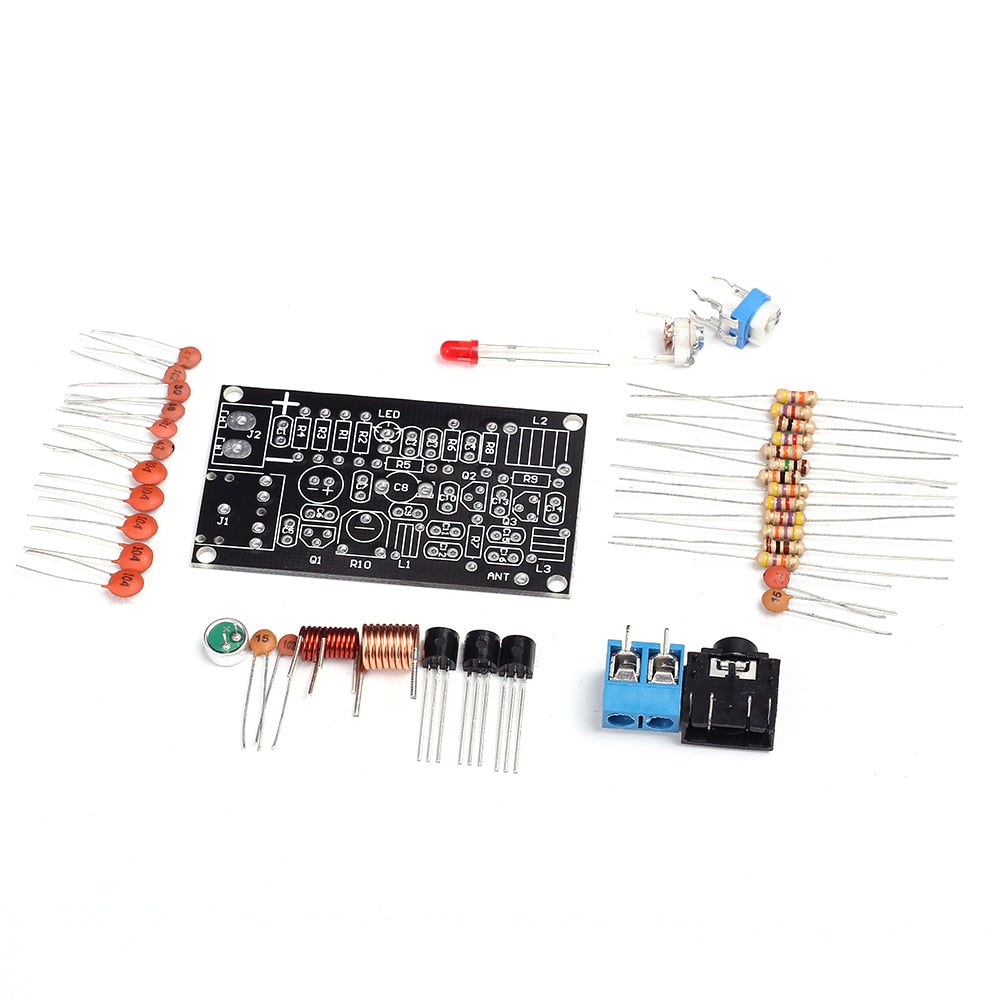 FM Radio Transmitter Circuit DIY Electronic Kit