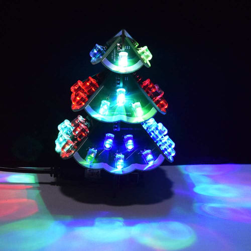 Musical LED Christmas Tree DIY Electronic Kit