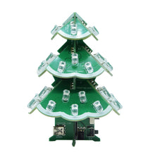 Load image into Gallery viewer, Musical LED Christmas Tree DIY Electronic Kit