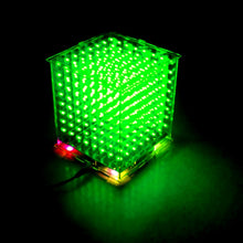 Load image into Gallery viewer, 8x8x8 Mini LED Cube DIY Kit - Circuit-Pop