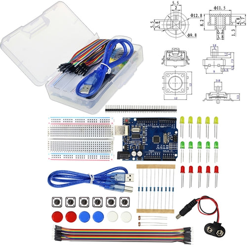 Uno Starter Kit (Includes Board) - Circuit-Pop