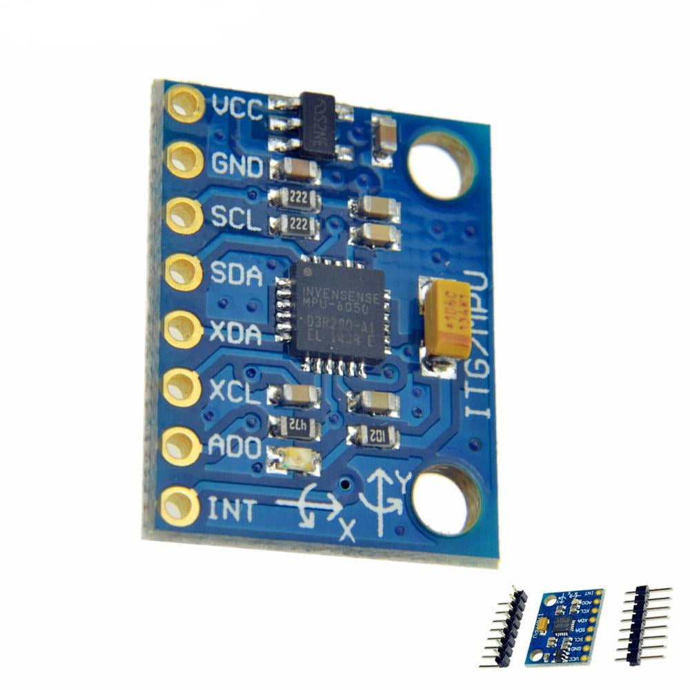 MPU-6050 Analog Gyroscope Accelerometer - Circuit-Pop