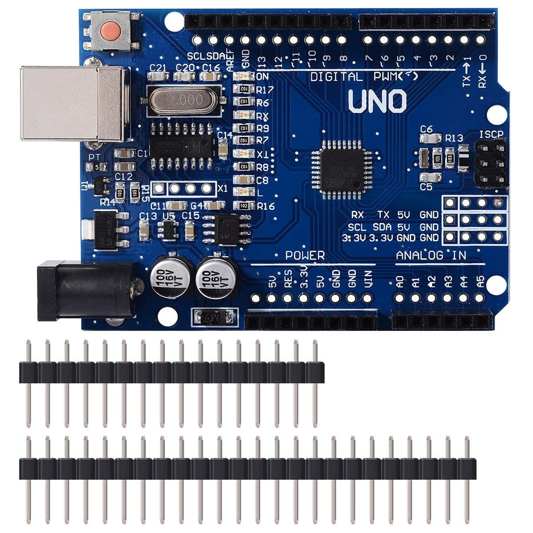 UNO R3 Dev Board (Arduino compatible) - Circuit-Pop