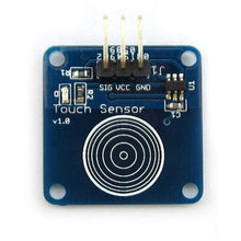 Load image into Gallery viewer, TTP223B Capacitive Touch Sensor 3pcs - Circuit-Pop