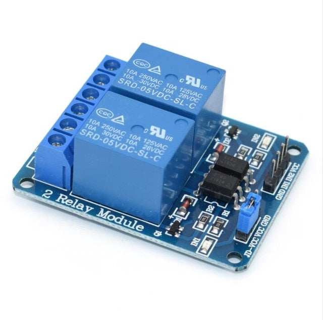 1, 2, 4, 8 channel 5V relay - Circuit-Pop