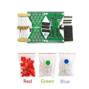 LED Electronic Hourglass DIY Kit - Circuit-Pop