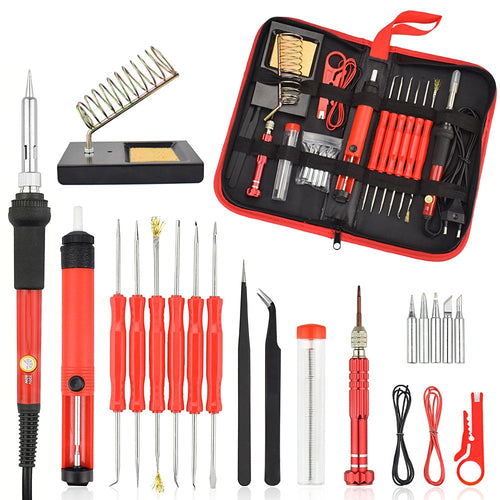26PCS 60W Soldering Iron Set - Circuit-Pop