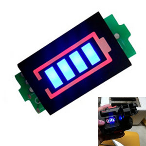 LED Lithium Battery Level Indicator