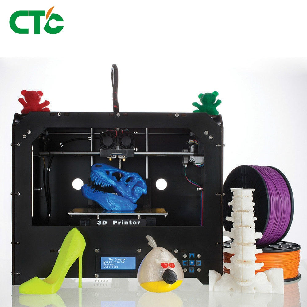 CTC Bizer Dual Extrusion 3D Printer - Circuit-Pop