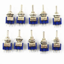 Load image into Gallery viewer, Miniature SPDT Toggle Switch 10Pcs/5PCs - Circuit-Pop