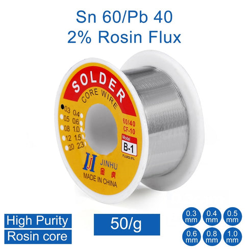 60/40 Rosin Core Solder - Circuit-Pop