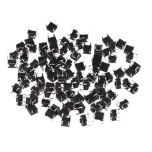 Load image into Gallery viewer, Tact switches 6x6x4.5mm 100 Pcs - Circuit-Pop