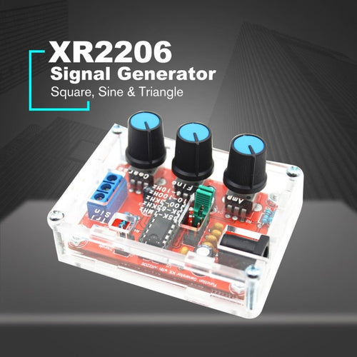 XR2206 Signal Generator DIY Kit - Circuit-Pop
